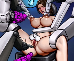 manga Claire Redfield - Guinea Pig, claire redfield , anal , futanari  tentacles