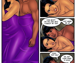 manga Savita bhabhi: Camping in the cold, dark skin , muscle  dark-skin