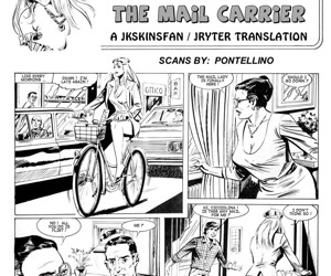 manga Cicciolina - The Mail Carrier, threesome