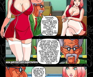 manga Alley Slut Sakura - part 2, anal , milf  naruto