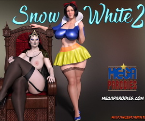manga Mega Parodies- Snow White 2, 3d  dark skin