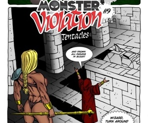 manga Monster Violation 9 - Tentacles, rape  monster