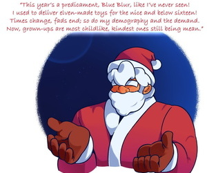 manga Sour Berry - Santas Bustiest Helper -.., furry , sonic the hedgehog