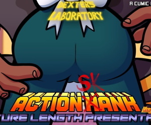 manga Action Skank, action hank , dexters mom , dark skin , group  blowjob