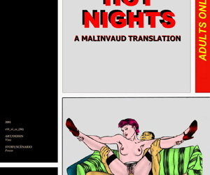 manga HOT NIGHTS - A MALINVAUD TRANSLATION, anal , group  double-penetration