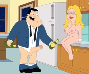 manga American Dad, francine smith , hayley smith , incest , milf