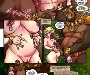 manga ManaWorld- Red's Revenge II-.., slut , big boobs  threesome