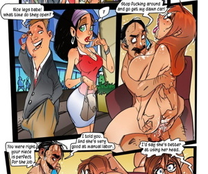 manga Teasecomix- Jenny Needs A Job, slut , blowjob  threesome
