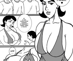 manga Ménage com a Mamãe, group , cheating  double-penetration